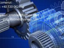Realizez desene tehnice/modelare 3D/Autocad/Inventor/etc.