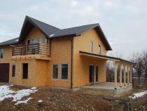 Construim Case de locuit de lemn placate cu osb
