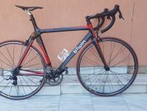Bicicleta cursiera b'twin facet 5 din carbon,full sram rival