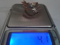 Inel marcat din argint 925