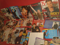 Colecţie de articole şi poster cu Richy Martin