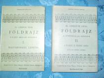 5564-I- 2 Carti maghiare vechi 1900-2 vol. Geografie.
