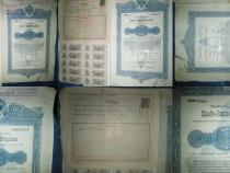 Act vechi Viena Obligatiune 200 koroane-1893, 38/25 cm.