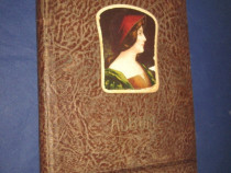 1488-I-Album foto stil Art Noveau anii 1900 coperta piele.
