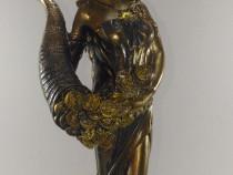 Statuie Zeita Abundentei cu Ceas