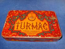 4310-Turkish Tutun Cutie veche metalica perioada interbelica