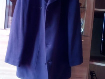 Palton negru barbatesc din stofa calitate NOU