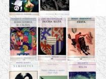 """8 cărţi din colecţia """"Meridiane"""""""