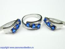 Set bijuterii argint rodiat Model ST103311