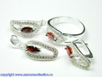 Set bijuterii argint Model ST208871