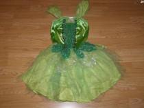 Costum carnaval serbare tinkerbell pentru copii de 10-11 ani