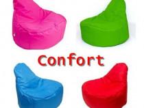 Fotoliu Puf Confort – 110 cm – Bean Bag -din tesatura nylon