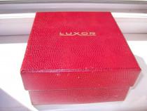 6662a-Cutie mare vintage ceasuri LUXOR carton.