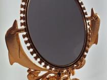Oglinda de machiaj (Bronz, Argintiu, Auriu)