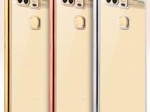 Huawei P8, P8 Lite, P9, P9 Lite Husa Silicon, Margine Colora