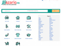 Site/portal de anunturi si mica publicitate - Bazario.ro