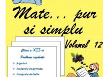 Matematica-rezolvata -  exercitii rezolvate pas cu pas V-XII