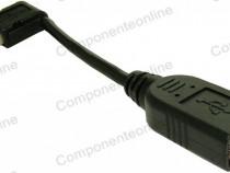 Cablu prelungitor usb a tata - usb a mama, 20cm - 128188