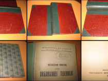 Instructiuni provizorii asupra organizarei terenului-1926.