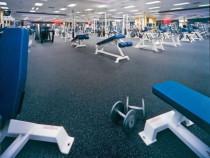 Turnăm în Tara Tartan pardoseala cauciuc sala de fitness
