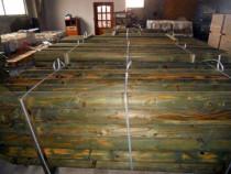 Stalpi lemn tratat pentru solarii - livrare oriunde in tara