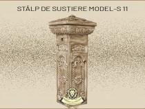Stalp sustinere garduri din beton model S11.