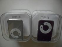 MP3 Player, nou, la cutie, accesorii casti si cablu USB pent
