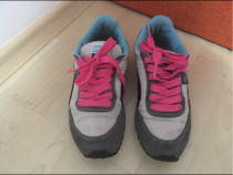 Adidasi Puma originali,gri roz albastru,impermeabili, 37
