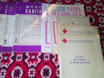 Carti(8) Sanitare,Crucea Rosie,R.P.R