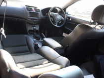 Eleron Honda Accord, negru, piele+material