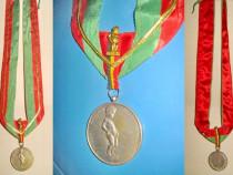 4997-Medalie-Cel mai vechi burghez Bruxelles Belgia bronz.
