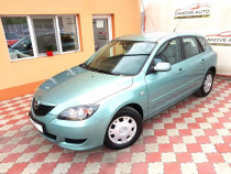 Mazda 3 (in acte)=cutie automata=motor 1600 cmc=clima=full