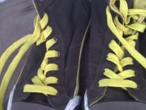 """Adidasi gheata """"Fila"""" culoare negru cu galben"""