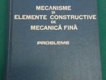 Mecanisme și elemente constructive de mecanică fină* problem