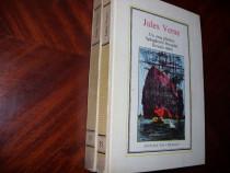 Doua carti de Jules Verne ( stare buna, cu ilustratii ) *
