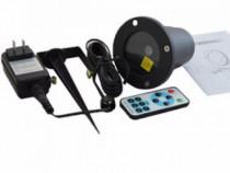Laser star shower cu telecomanda / proiector laser decorativ