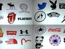 Autocolant Decals branduri diverse sticker color