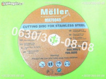 Disc de taiat metal 230mm moller straus