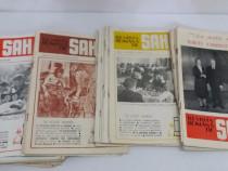 Lot 45 reviste: revista română de șah/ anii 1982-1989