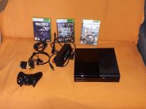 Xbox 360 aproape nou și 3 jocuri