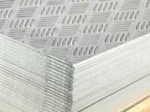 Tabla aluminiu striata 2x1000x2000mm antiderapanta