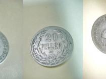 20 Filler 1894 KB nr. 1 moneda maghiara Imperiul Austro- Ung