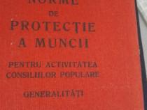 Colectie normative securitatea muncii