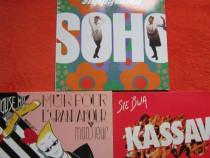 "Vinil 12"":Soho-""Hippychick""+Monsieur-""AmourHouseMix+Kassav"