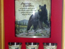 Set plosca / sticla inox 200 ml American Expedition - Urs