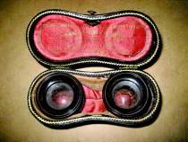 7955-Antic Charles Chevalier-Etui lentile obiectiv binoclu
