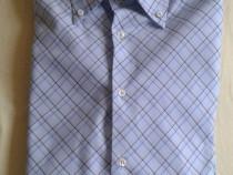 Camasa noua albastru cu dungi albastre si galbene mac trend
