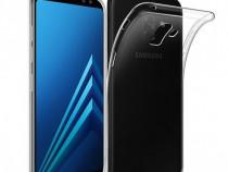 Samsung A8 2018 - Husa 360 Din Silicon Ultra Slim Transparen