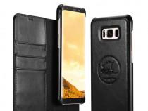 Husa piele 2in1 iCarer Samsung S8 Plus carte + back cover