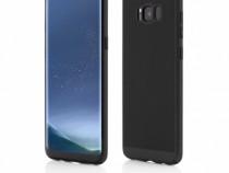 Husa Plastic Samsung Galaxy S8 g950 Mesh Black & Red NOU